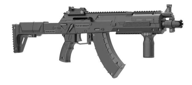 AK-15 WARRIOR PLAY SET
